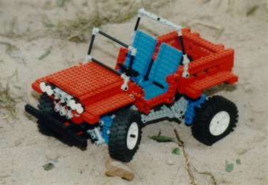 Lego-Modell: Jeep (1)