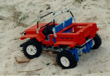 Lego-Modell: Jeep (2)